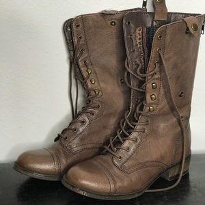 ❤️3/25 Steve Madden Moto boots tribal lining